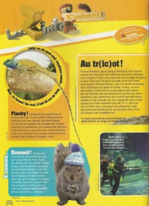 Sneezy French Magazine