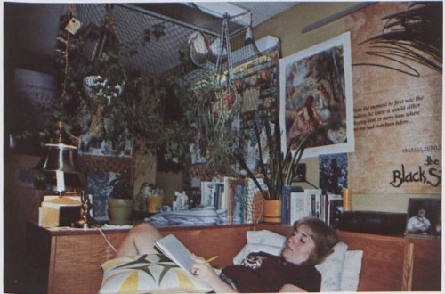 An impressive dorm room setup in Simmons Hall in 1981. (From La Vie 1981.)