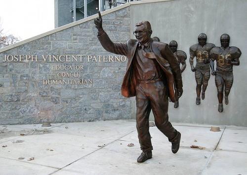 1AA Joe Paterno Statue