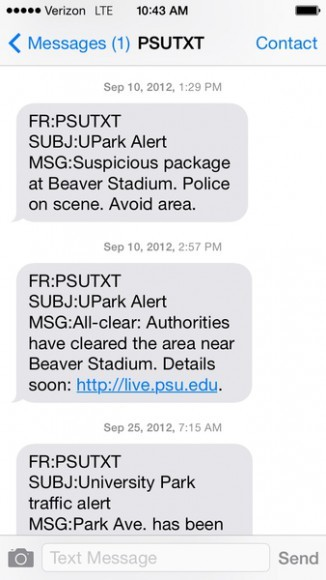 beaver stadium package