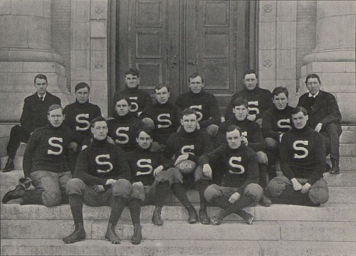 1904 Penn State football team coached by Tom Fennell