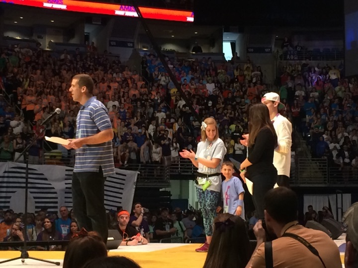 daniel testa family at thon 2015
