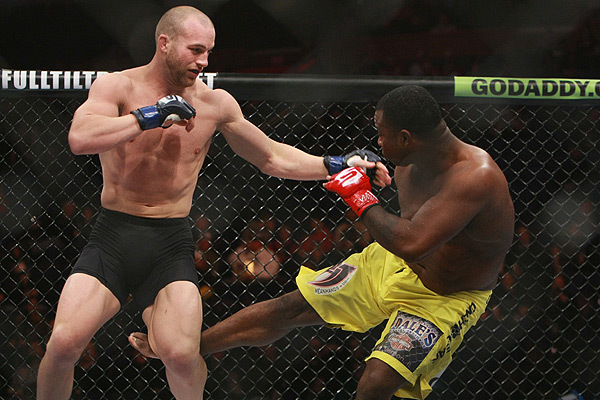 Cummins fought in the Strikeforce promotion during his early days in MMA. Photo courtesy of Sherdog.com