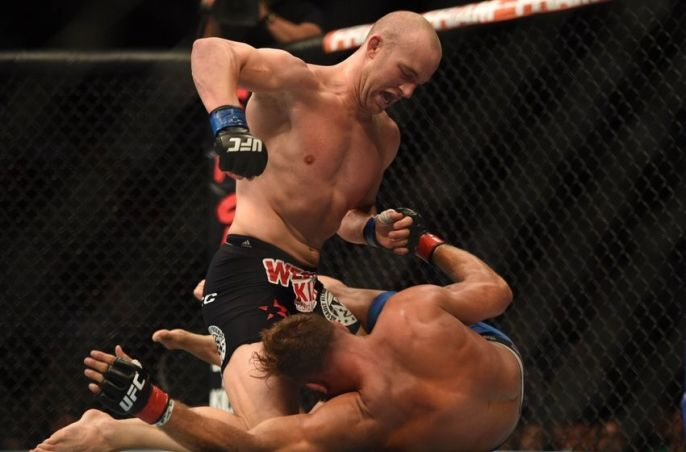 Cummins manhandled Kyle Kingsbury to pick up his second UFC win. Photo courtesy of CagePages.com