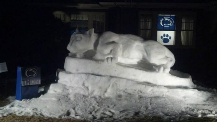 snow lion shrine 1