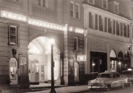 Nittany Theatre Building, 1955 Photo: Penn State Alumni Association