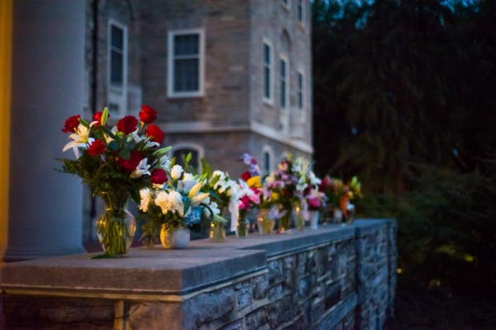 Flowers had been sent to the sorority by the dozen, as sympathies poured in.