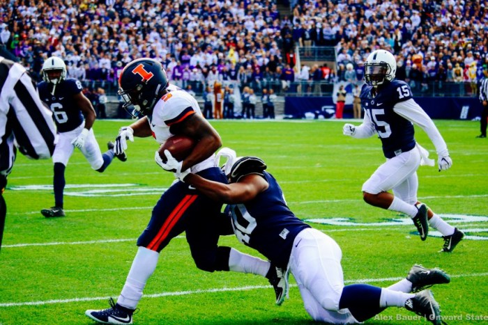 Jason Cabinda Football Illinois 2015