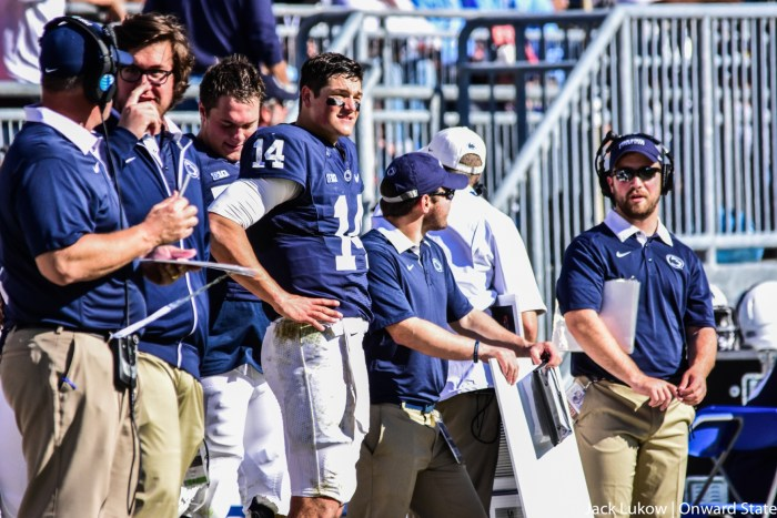 Hack Sidelines Football Stock Homecoming
