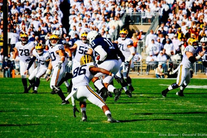 Brandon Bell interception Football Michigan 2015