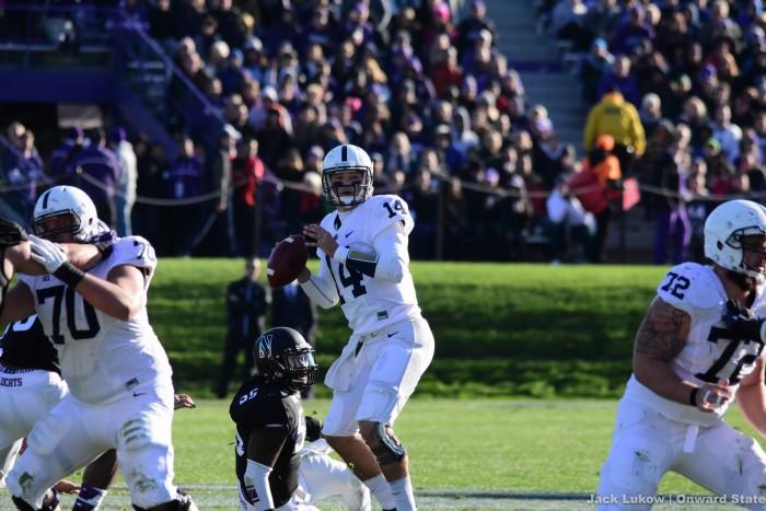 Hackenberg Looks to Throw Again Stock Northwestern