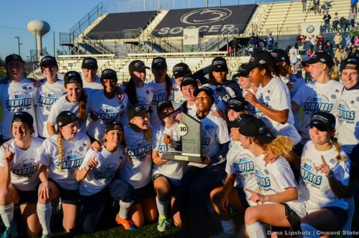 Women's Soccer Big Ten Champions