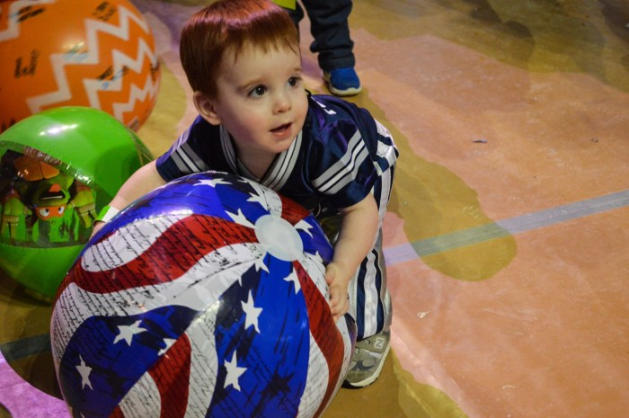 THON 2016 kids beach ball