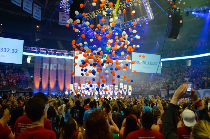 Total Reveal Balloons THON 2016