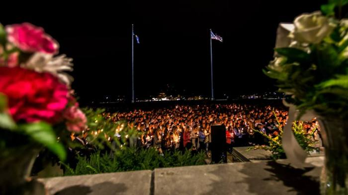 tally sepot candlelight vigil