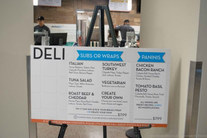 Deli station in Findlay