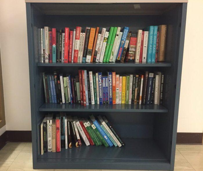 econ library shelf