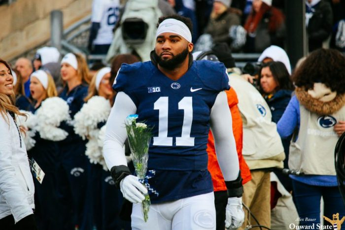 Brandon Bell Penn State Football vs Michigan State 2016