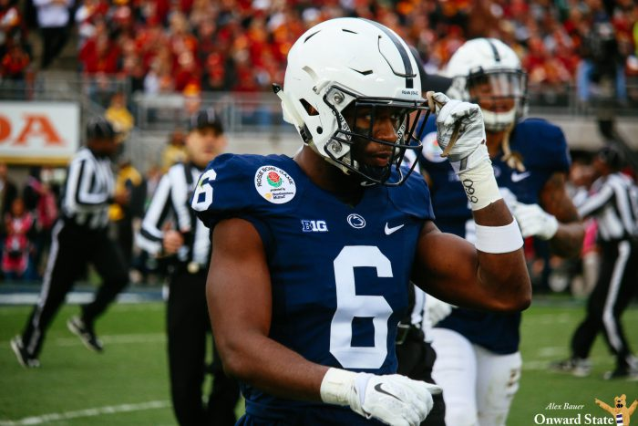 Malik Golden Penn State Football vs USC University of Southern California Rose Bow Game 2017