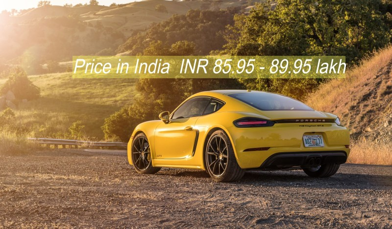 Porsche 718 Boxster Yellow colour
