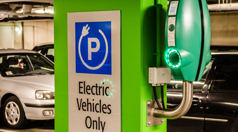 electric, parking, vehicle