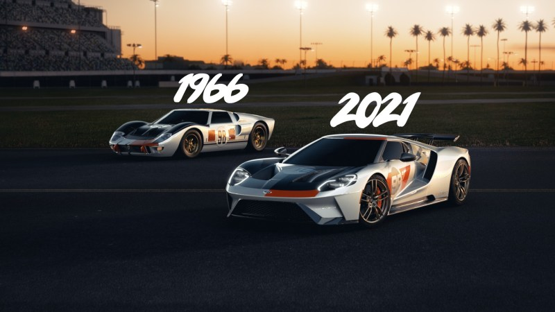 2021-Ford-GT-&-1966-Ford-GT-OnwayMechanic
