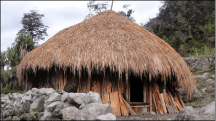 Living in a Honai House - Bagas Wpw