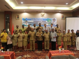 Photo: Socialization of the People's Business Credit program in Papua (Directorate General of Treasury Ministry of Finance)