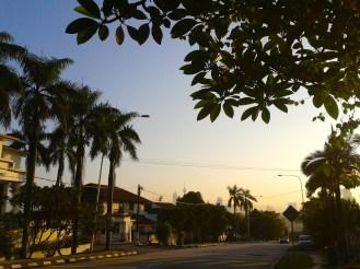 Mroning jogging Bangsar