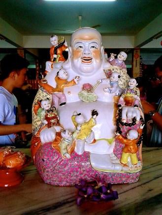 Chinese temple - Celebrating Chinese New Year in Melaka