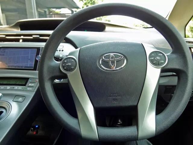 Prius30系は2年ほど乗った。新型に4WDモデルが出たのを期に乗換