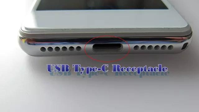 本体側のコネクタはUSB Type-C レセプタクルの仕様
