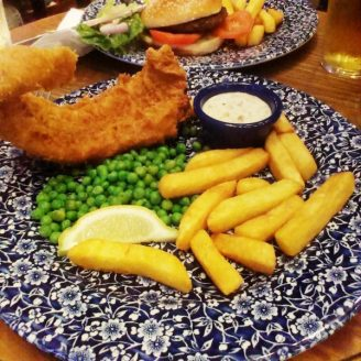 Fish and Chips au Coronet