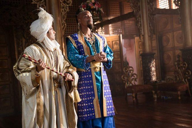 Aladdin 2019 Disney will smith mena massoud