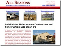 subdivision and property maintenance contractors