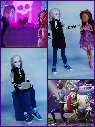 Welcome to Monster High - Raythe with friends :-)