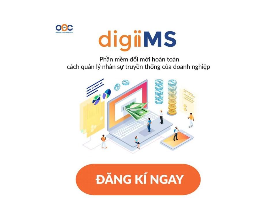 Phần mềm quản lý doanh nghiệp OOC digiiMS