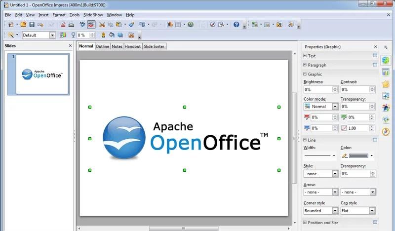 Phần mềm miễn phí Apache OpenOffice