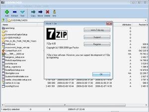 7-zip Archiver
