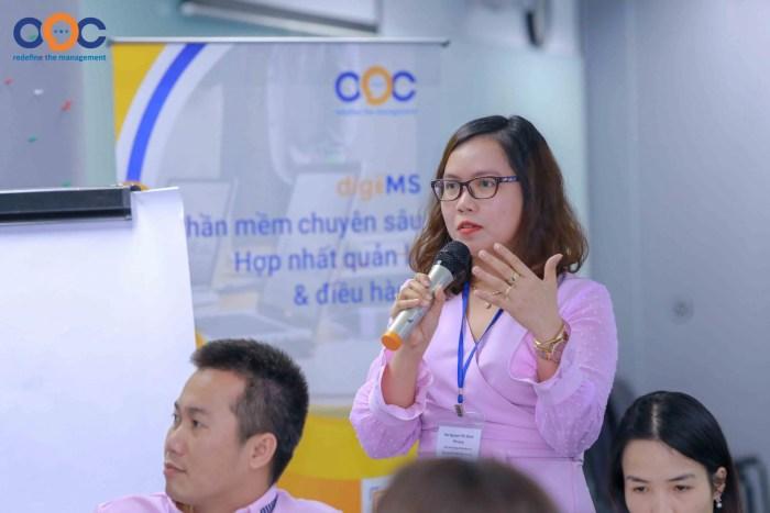 Các chủ DN trẻ hỏi đáp và chia sẻ kinh nghiệm về hệ thống quản trị của chính DN mình