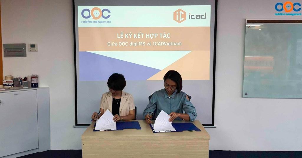 Lễ ký kết hợp tác giữa OOC và ICAD