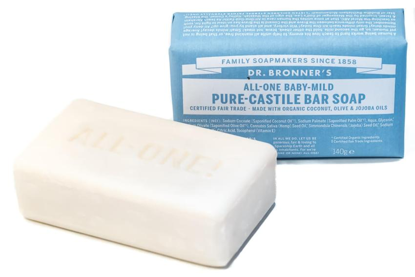 Dr. Bronner's Pure Castile Bar Soap Baby Mild