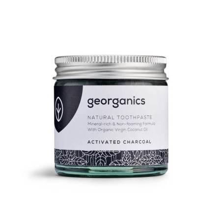 Georganics Tandpasta geactiveerde houtskool