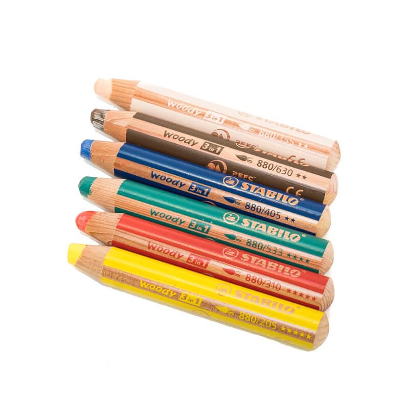Stabilo Woody 3 in 1 color pencil