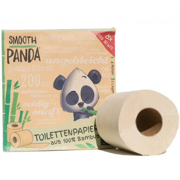 Bamboo Toilet paper Smoot Panda