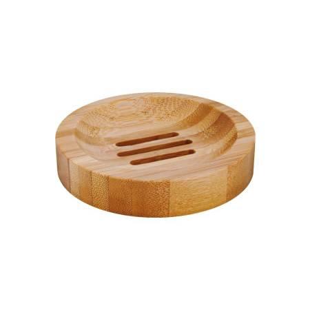Bamboo Soap Dish round