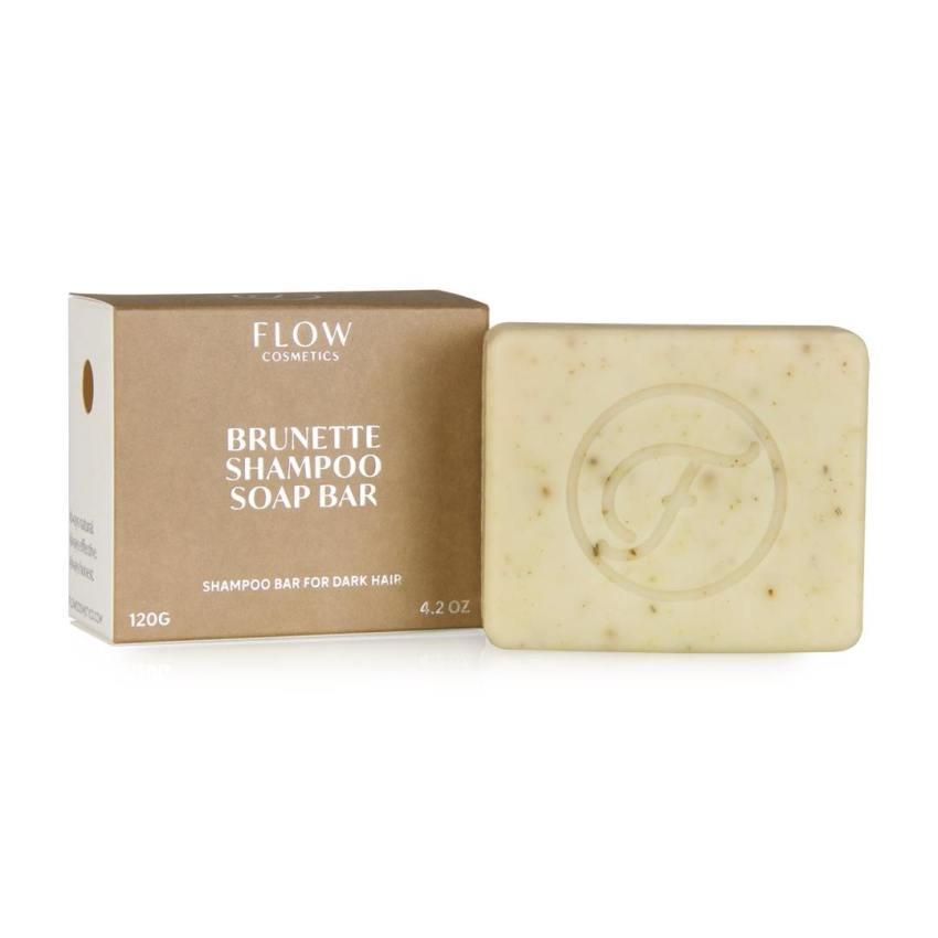 Shampoo Bar Brunette For Dark Hair - Flow Cosmetics