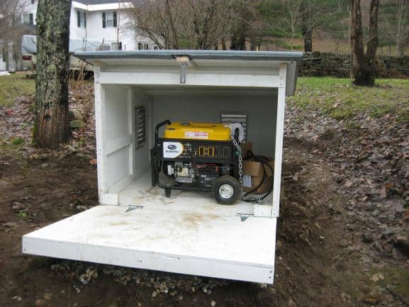 can you cover a portable generator?