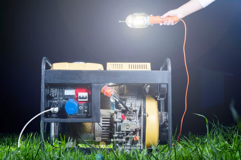 Running a generator continuously
