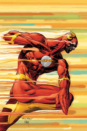 The Flash going fast